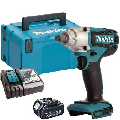 Makita DTW190Z 18V LXT Impact Wrench With 1 x 5.0Ah Battery & Charger in Case