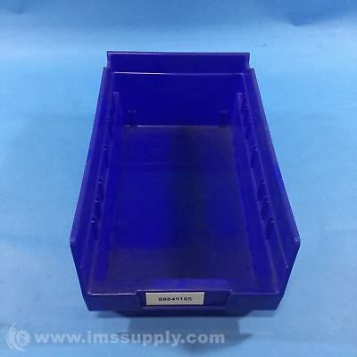 Akro Mils 30130 Blue, Plastic Shelf Storage Bin  Usip
