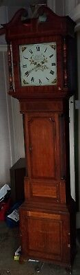 vintage clock Long Case Clock 19 c E Bell