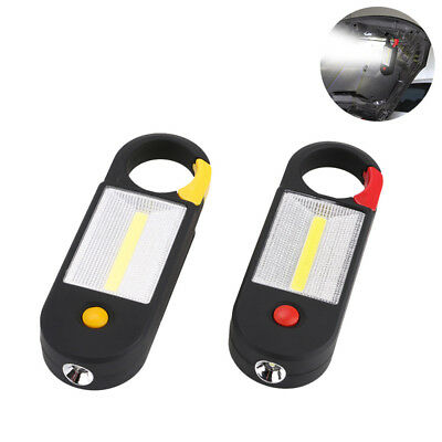 COB LED Magnetic Work Light Floodlight Hand Held Flashlight Torch Pocket Lamp