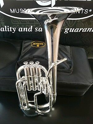Besson BE-152 Silver Eb Alto Horn- New Standard