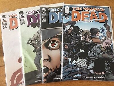 The Walking Dead - What Comes After - Issues 103 104 105 106