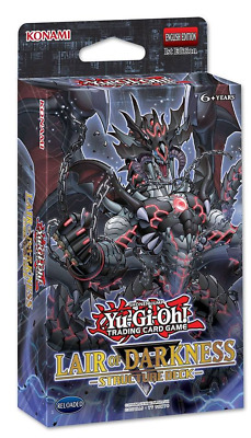 Lair Of Darkness Structure Deck YuGiOh SR06 Sealed UK English - Boxless