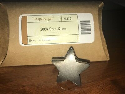 Longaberger American Celebration Star Knob Drawer Pull #23576 - NEW