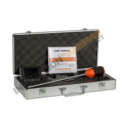 Cavity Wall Inspection Camera with Recordable Wireless Monitor w/ Accessories