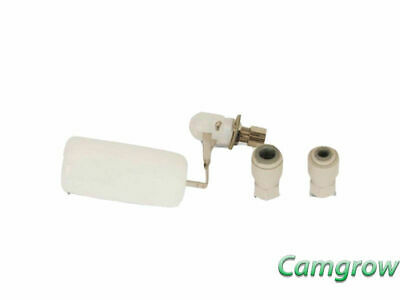 GrowMax Water Float Valve Kit  Conjunction With GrowMax RO Filters Hydroponics
