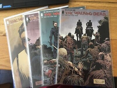 The Walking Dead - Whispers Into Screams - Issues 133 134 136 137