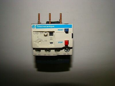 Telemecanique LRD07 Thermal Overload Relay, New