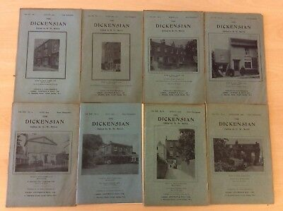 Lovely Vintage The Dickensian Publications, Jan-Sept 2012, 8 Editions, *BARGAIN*