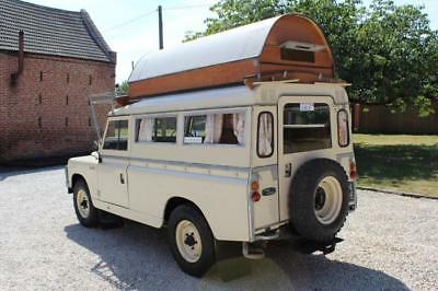 1967 Land Rover 109 Searle Carawagon converted from new