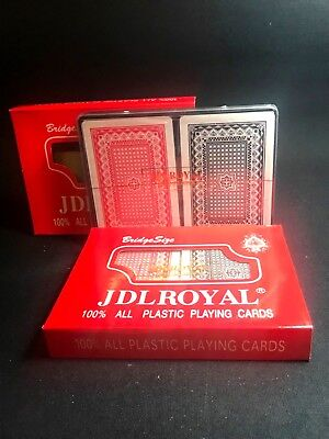 New 100% Plastic Coated Playing Cards Poker ,Magic Tricks ,Games Casino