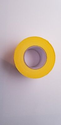 Barricade CAUTION Tape, Yellow 1000 Foot Roll, 2 Mil