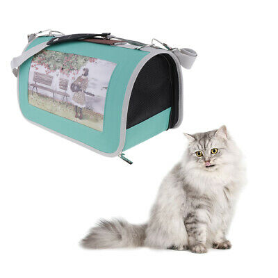 Breathable Pet Carrier Dog Cat Portable Comfort Travel Tote