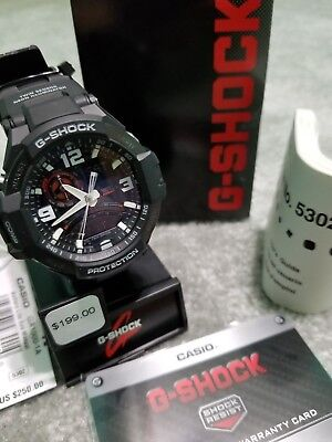 820929d5d2d CASIO G-SHOCK GA-1000-1A Aviation Series Mens Luxury Watch Black One ...