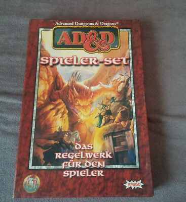 AD&D, Advanced Dungeons and Dragons, Spieler Set