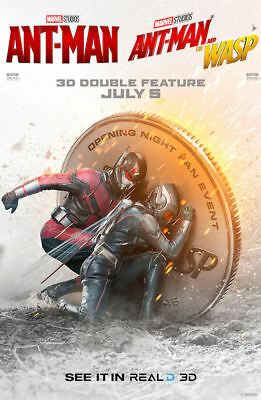"Ant Man & the Wasp ( 11"" x 17"" ) Movie Collector's Poster Print (T7) - B2G1F"