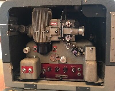 Very Rare Bell & Howell Filmosound 640 Projector, 16mm Cine Film, Recording Feat