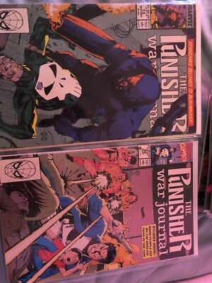 MARVEL THE PUNISHER 13 Lot Different Series . see description