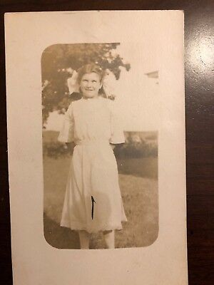 Vintage Post Card Of A Young Lady