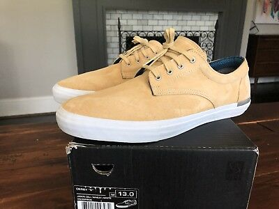 feada51a83 Vans Derby Syndicate Jason Dill Wheat Brown Low Suede Sneakers Sz 13 Men  Rare