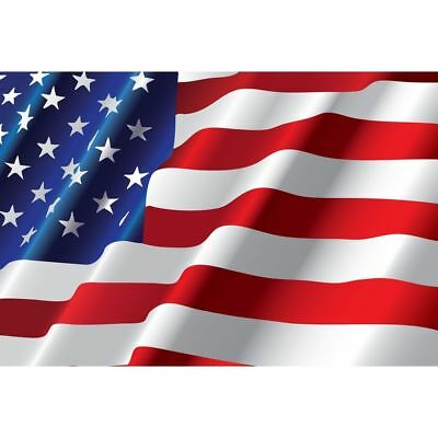 USA AMERICAN STARS & STRIPES AMERICA NATIONAL LARGE 5 x 8FT FANS SUPPORTERS FLAG