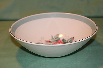 Ridgway Staffordshire Picardy Pattern Vegetable Serving Bowl Beautiful Look!!!