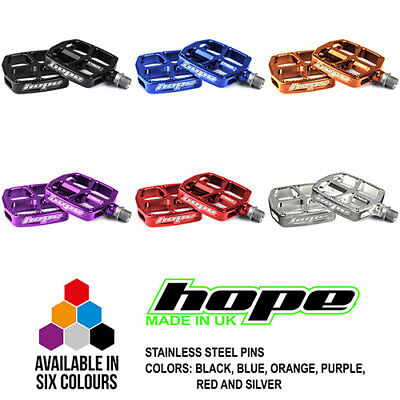 New Silver 20 Count Hope F20 Flat Platform Pedal Replacement Titanium Pins
