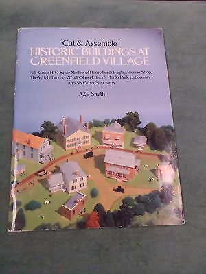 Cut & Assemble Historical Buildings At Greenfield Village - A.G. Smith