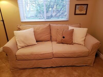 Pottery Barn Pb Comfort Roll Arm Sofa