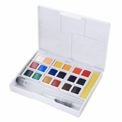 Superior Pigment Solid Watercolor Paints Set Colored Pencils For Drawing Pa S2U1