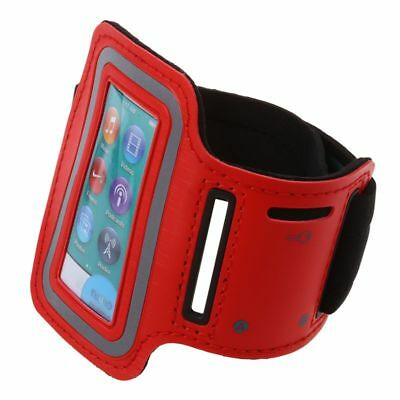 Sport Armband Case Holder Running Arm Band for iPod nano 7, Red A5Q7