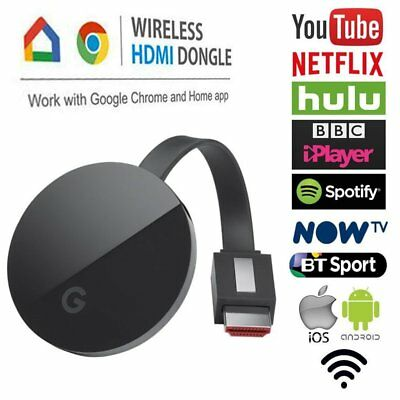 1080P Digital HDMI Media Video Streamer For 2nd Generation Googl Chrome cast