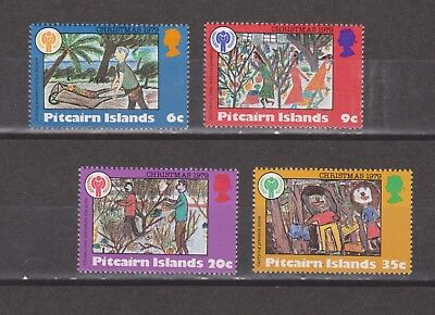 Pitcairn Islands 1979 Christmas Set Mint NH