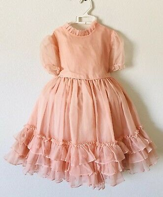 Vintage Sheer Girl Dress