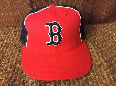 5fb8b6d05e20f ... promo code for vintage boston red sox baseball mlb fitted hat cap size 7  new era