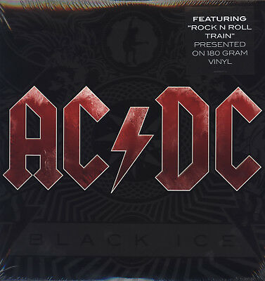 AC/DC - Black Ice (180g 2LP Vinyle, Gatefold) Hard Rock Classic! 2013 Columbia