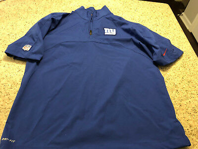 0f946446c Men s New York GIANTS NIKE Dri-Fit NFL On Field Apparel FREE SHIPPING MEDIUM