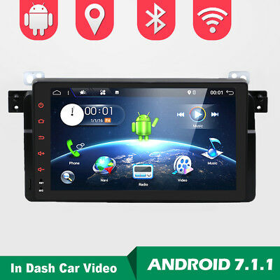 Android 7.1 Car DVD Player GPS NAVI Bluetooth Stereo Radio for BMW E46 3 Series