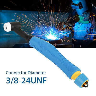 WP-17F SR-17F TIG Welding Torch Head Body Flexible 150Amp Air-Cooled 3/8-24UNF