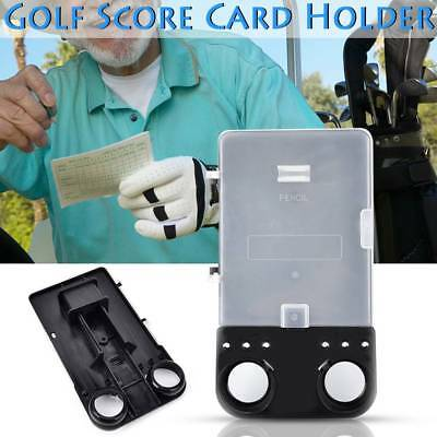 Golf Score Card Holder Creative Golf Score Card Holder With PU Holder Easy Carry