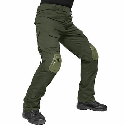 Army Green Gen3 G3 Mens Pants Combat Military Airsoft Tactical Cargo Casual BDU