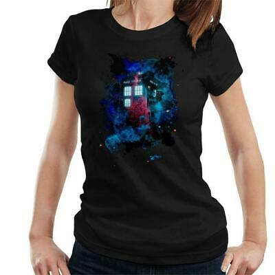 Time And Space Mist Tardis Doctor Who Women's T-Shirt