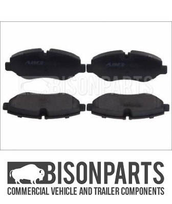 +Fits Iveco Daily 2011-2014 & 2014 On Front Axle Brake Pad Axle Set Bp106-034