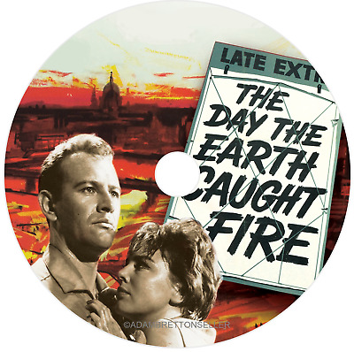 The Day The Earth Caught Fire DVD (1961) - Edward Judd, Janet Munro, Leo McKern