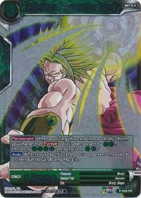 Dragon Ball Super TCG Endless Evolution Broly - P-033 PR - Foil Promo