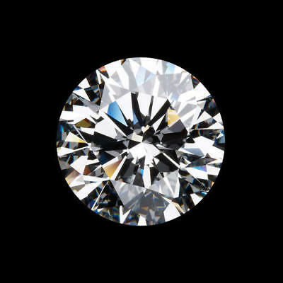 3mm-12mm AAA++ LOOSE WHITE MOISSANITE G-H COLOR QUALITY VVS1 ROUND CUT GEMSTONE#