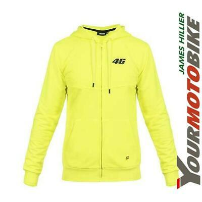 Vr46 Core Full Zip Hoodie Top Valentino Rossi The Doctor Motorcycle Bike Casual
