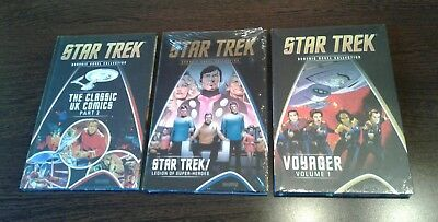 star trek graphic novel collection, Hardcover, 3 Bände/issues