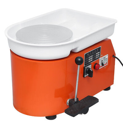 Pottery Forming Machine 250W Electric Pottery Wheel Diy Clay Tool With Tray For