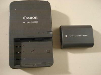 Genuine Canon CB-2LW Charger NB-2LH Battery G7 G9 S50 S70 S80 EOS XT XTI Camera